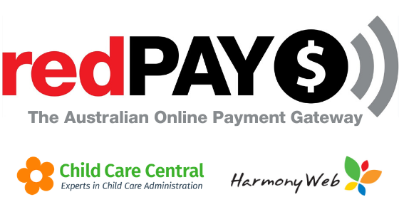 redPAY supports Child Care Central and Harmony Web CCS Software programs